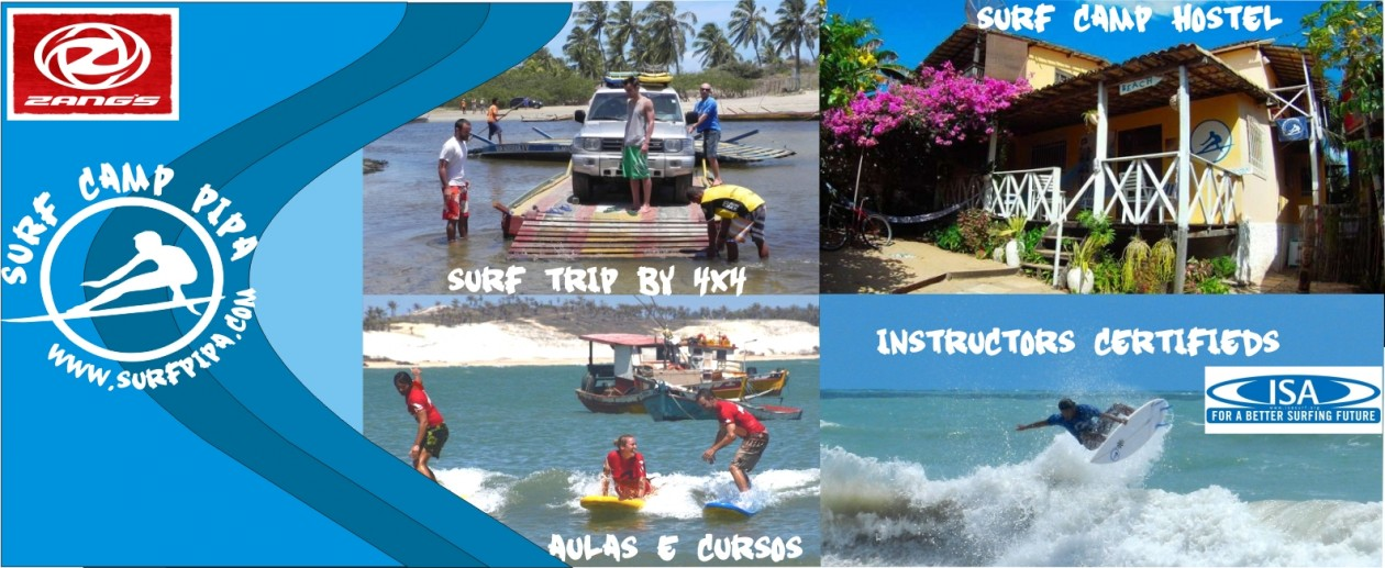 Surfcamp Pipa Escola de SUP  surf na Pipa Brazil